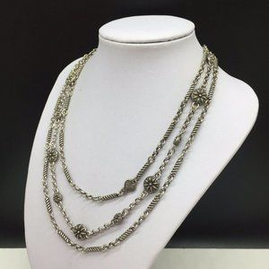 Brighton Jewelry - Brighton Necklace Silver Layered Necklace Ventura